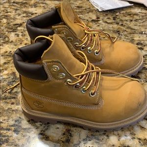 Toddler boy construction boots Tim's